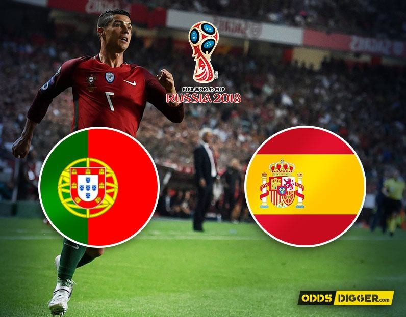 Portugal vs Spain FIFA World Cup 2018 betting tips