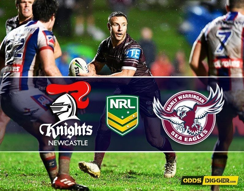 Newcastle Knights vs Manly Warringah Sea Eagles