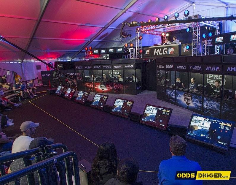 CS:GO Major event player set-up