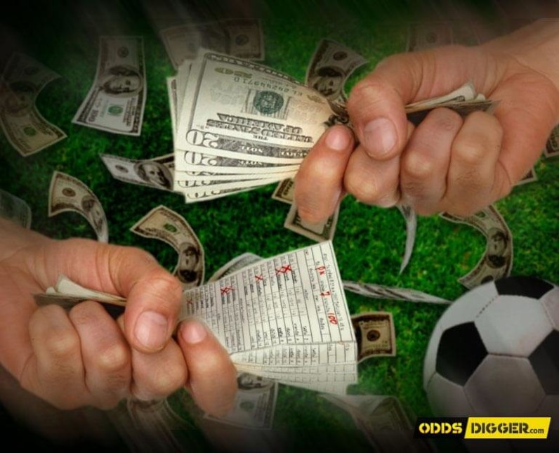 Hedging betting can be understood easily by seeing examples