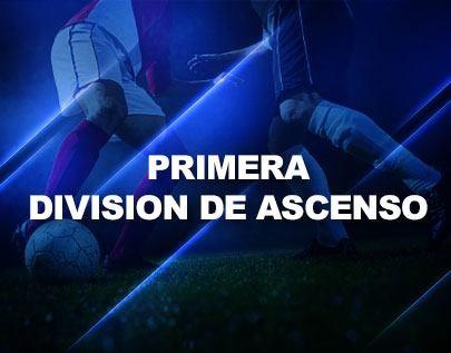 Primera Division de Ascenso football betting