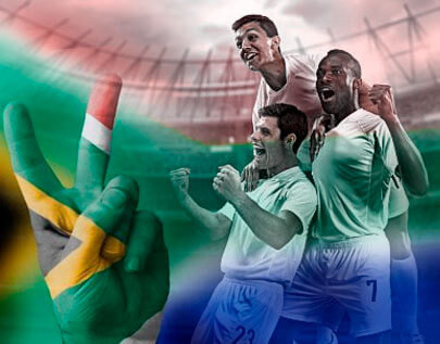 South Africa football betting odds
