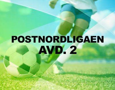 Postnordligaen avd. 2 football betting odds