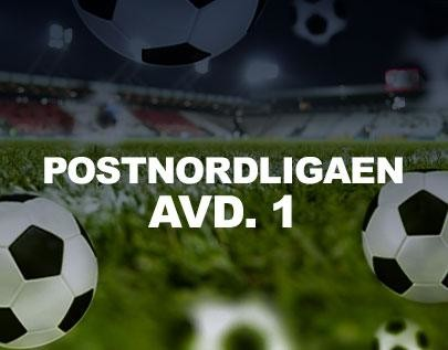 Postnordligaen avd. 1 football betting odds
