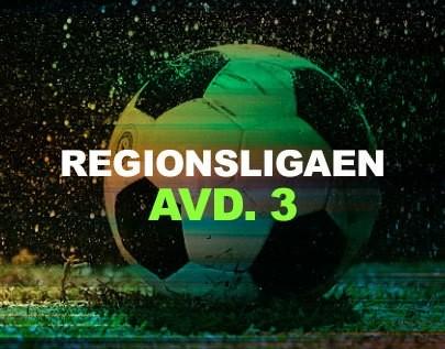 Regionsligaen avd. 3 football betting odds