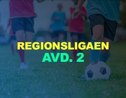 Regionsligaen avd. 2 football betting odds