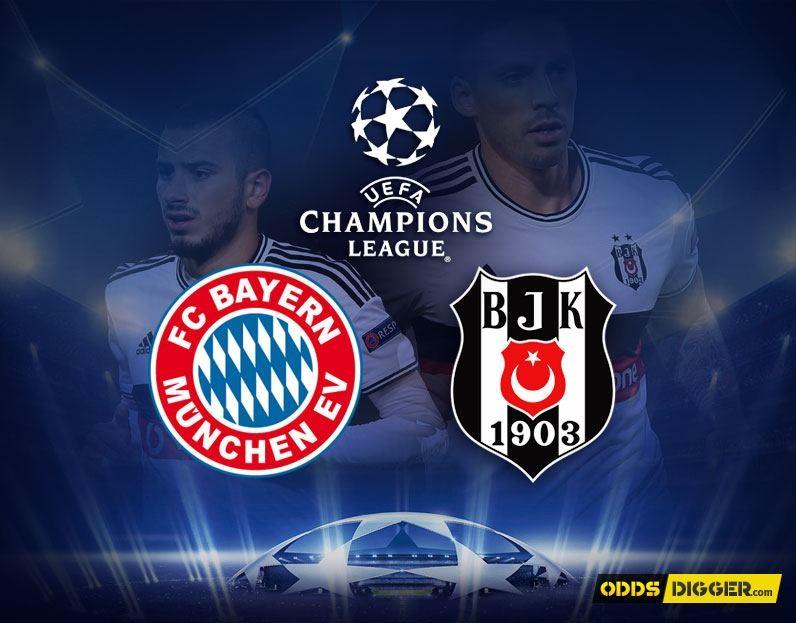 Bayern Munchen vs Besiktas JK
