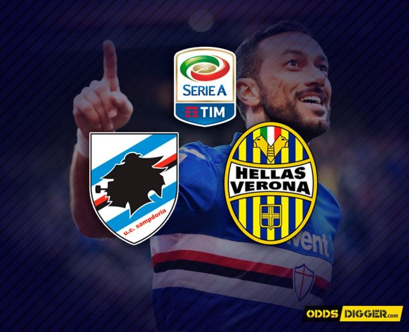 Sampdoria vs Hellas Verona