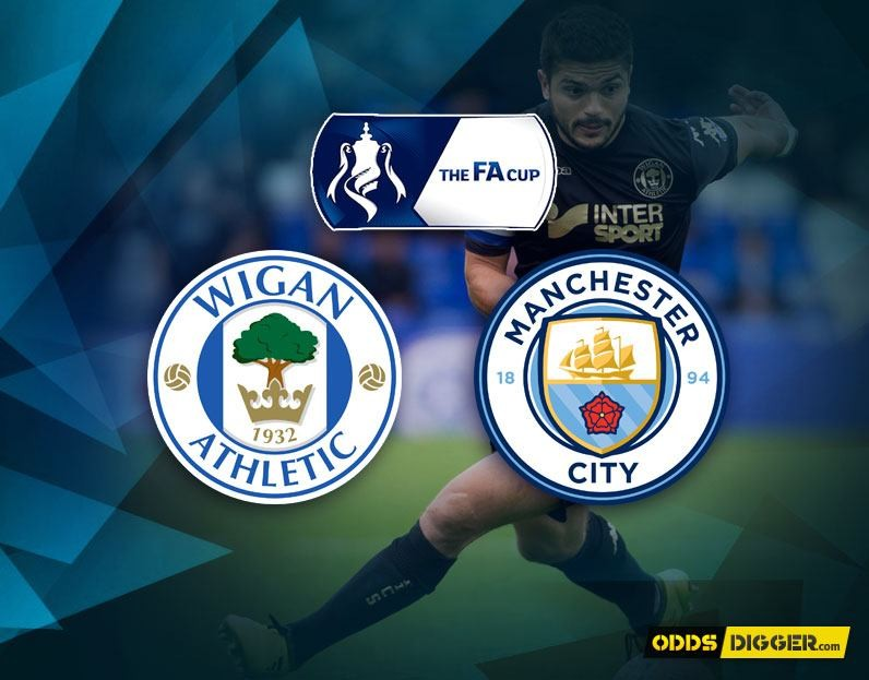 Wigan Athletic vs Man City