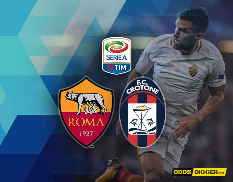 Image result for Roma vs Crotone twitter