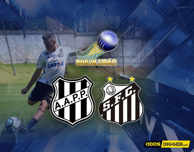 Ponte Preta vs Santos