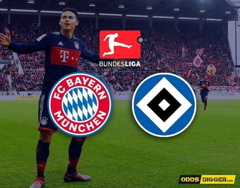 Bayern Munchen vs Hamburger SV