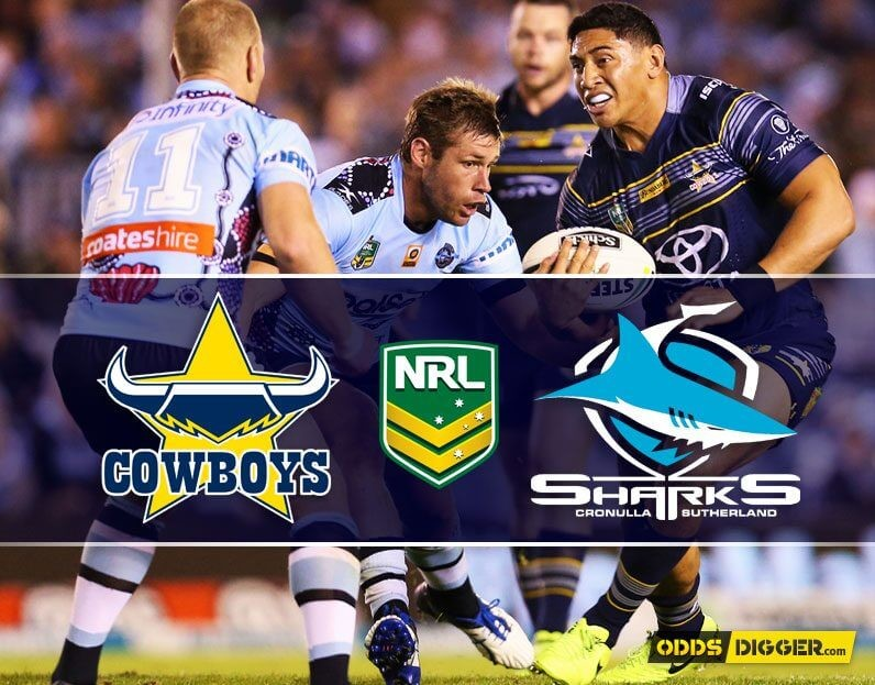 North Queensland Cowboys vs Cronulla-Sutherland Sharks