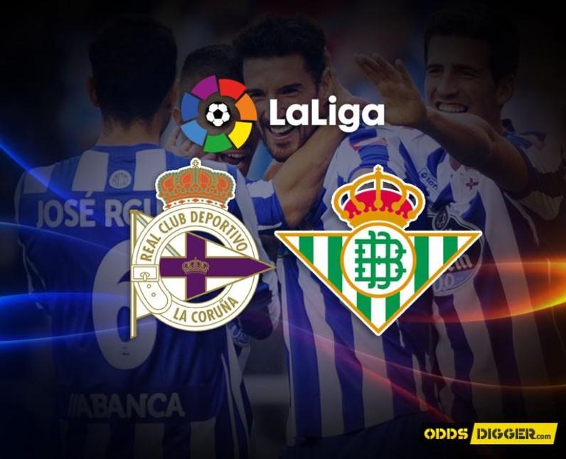Deportivo La Coruna vs Real Betis