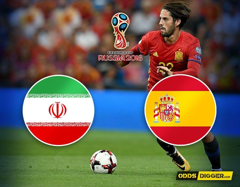 Iran vs Spain predictions for FIFA World Cup 2018